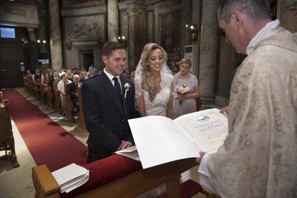 Signatures moment in Vatican, Rome