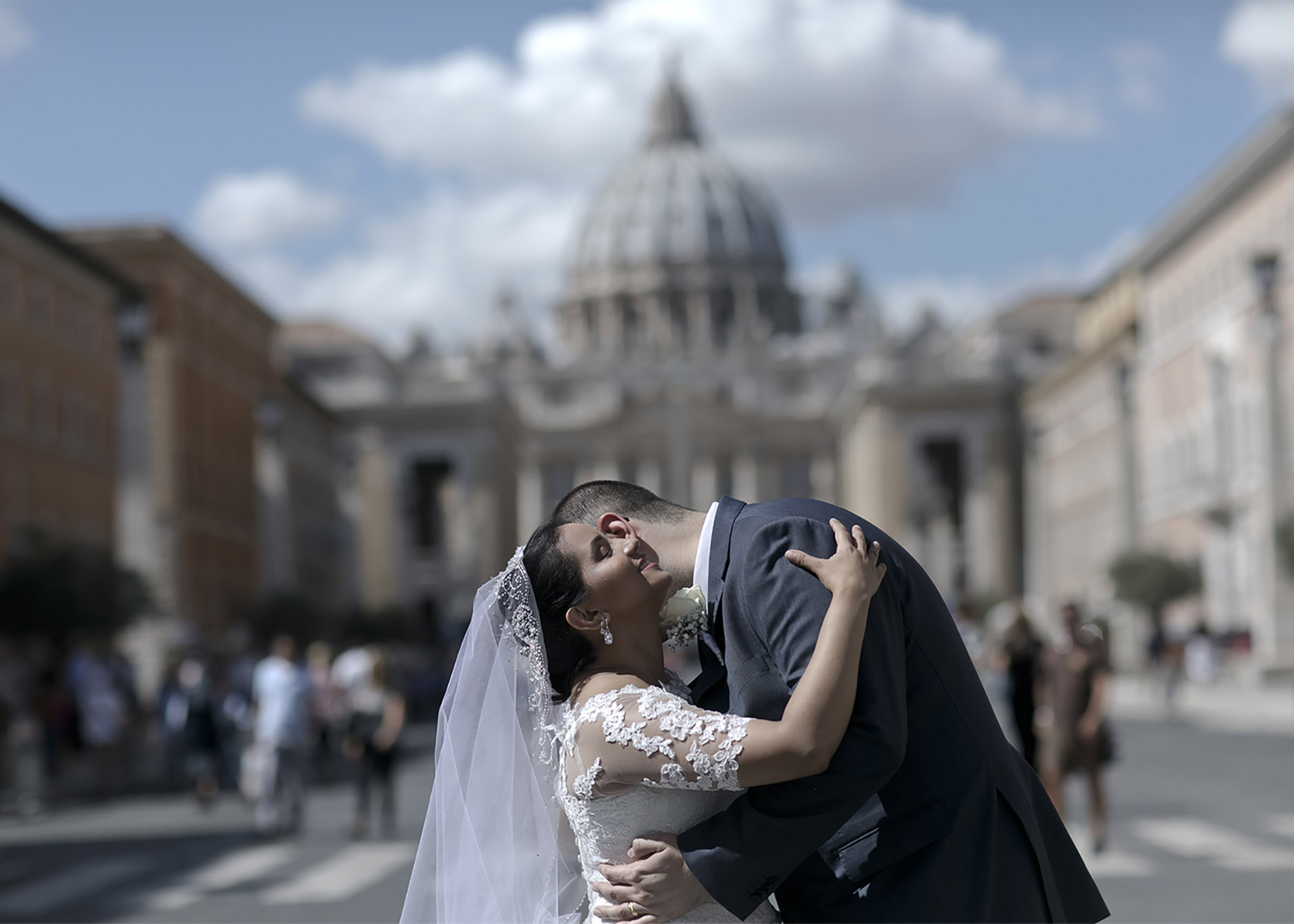 The vatican could be a timeless venue for your charming elopment in Rome