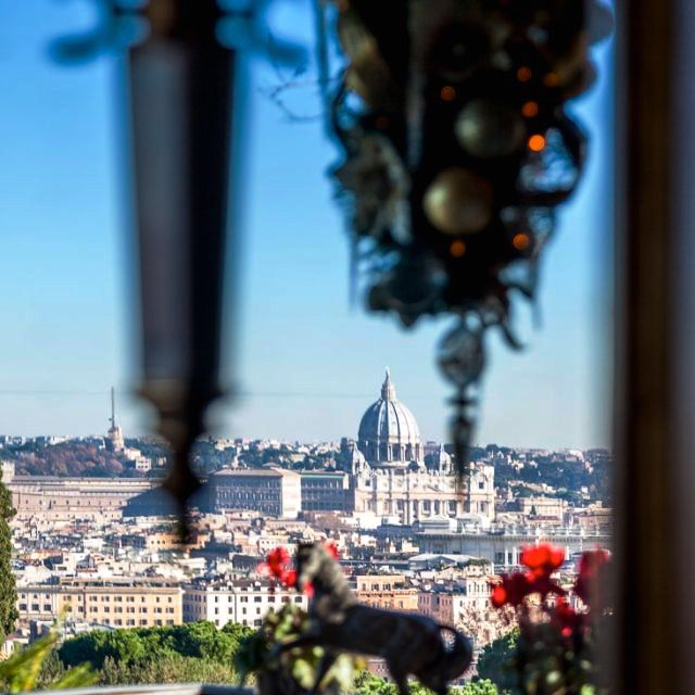 amazing view of st peter's from rooftop perfect for wedding receptions