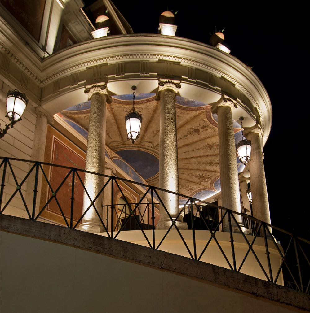 Terrace of a Venue Wedding Rome
